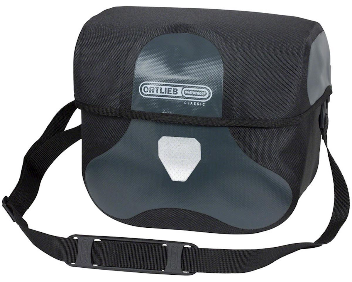 Ortlieb Ultimate 6 Classic Handlebar Bag: Large: 8.5 Liter, Black