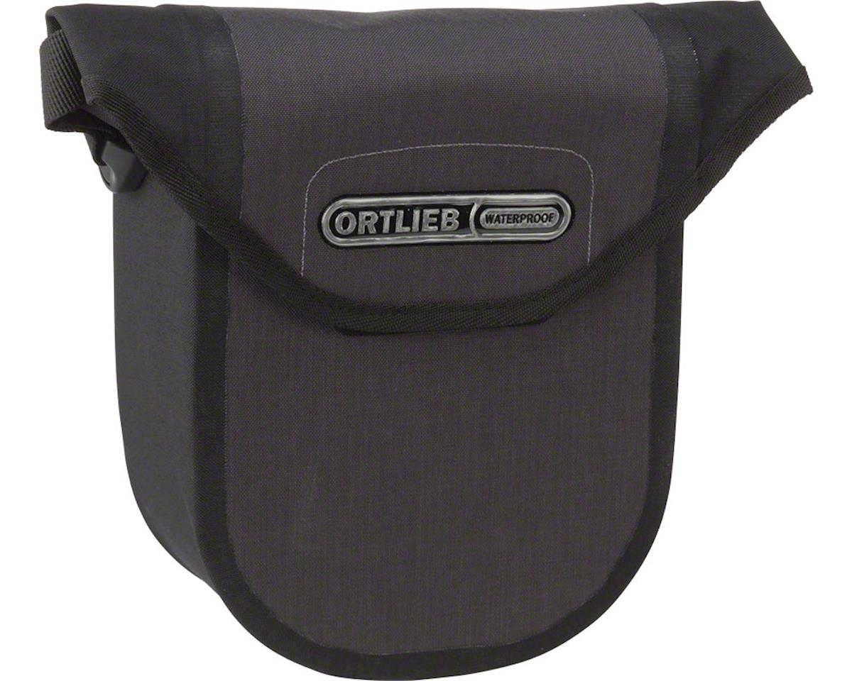 Ortlieb Ultimate 6 Compact Handlebar Bag: Granite/Black