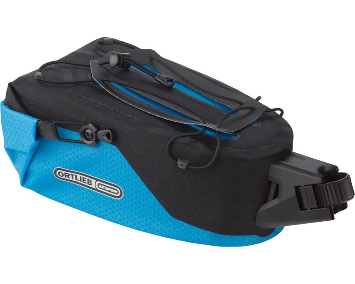 Ortlieb Seatpost Bag: MD, Ocean Blue/Black