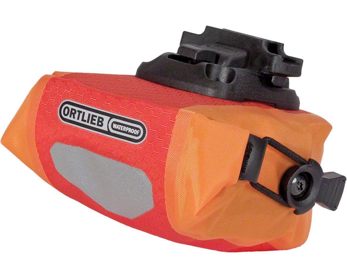 Ortlieb Micro Saddle Bag: Red/Orange