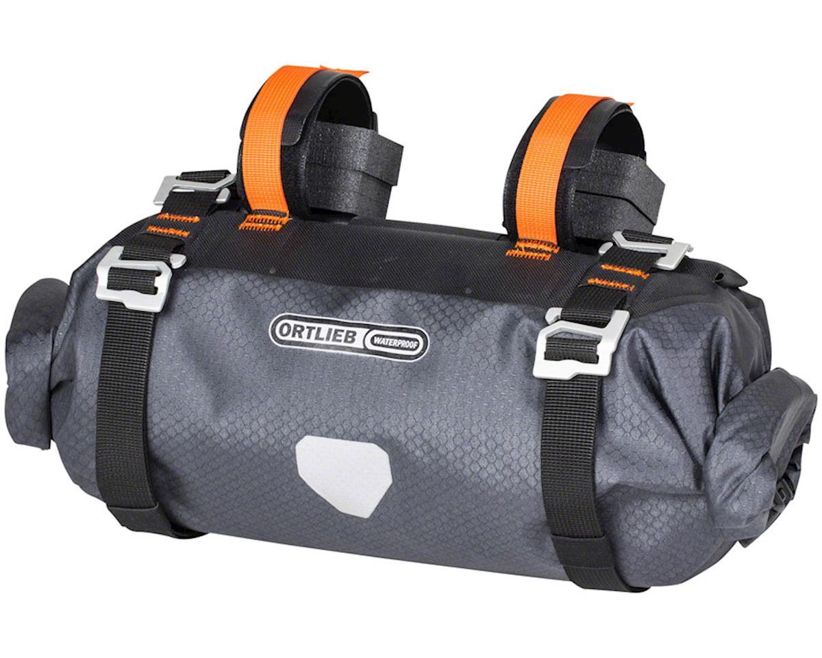 Ortlieb Bike Packing Handle-Bar Pack Small: 9 Liter, Gray/Black