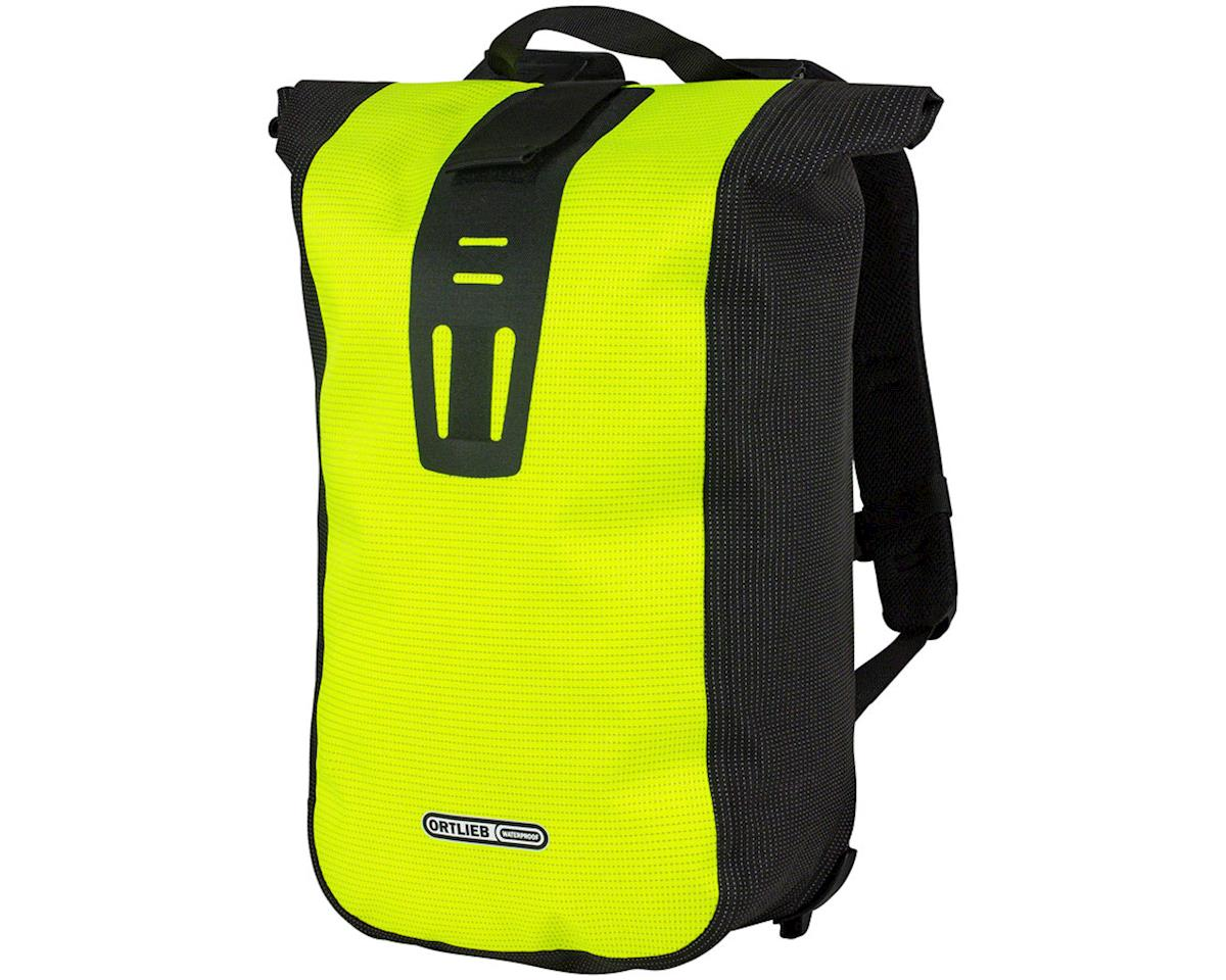Ortlieb Velocity Backpack: 24 Liter, High Visibility Yellow