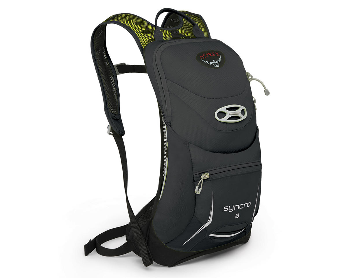 Osprey Syncro 3 Hydration Pack (Meteorite Grey) (85oz/2.5L) (S/M)