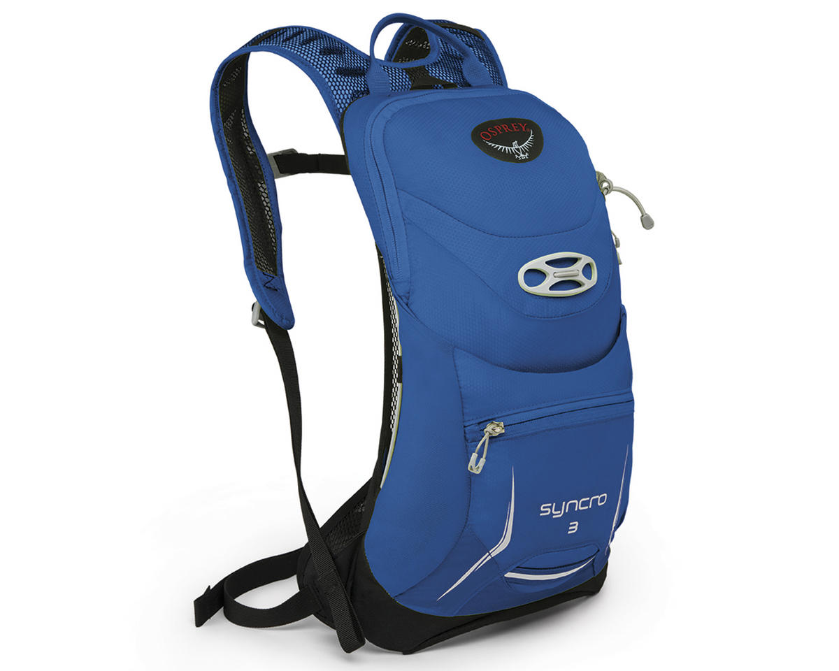 Osprey Syncro 3 Hydration Pack (Blue Racer) (85oz 2.5L) (M L ... 7aaa22cf2