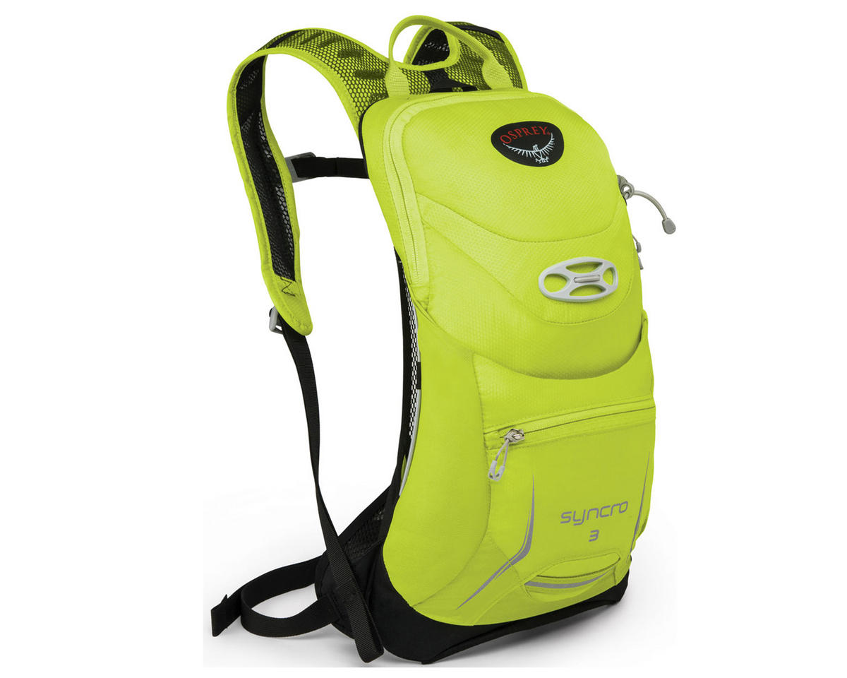 Osprey Syncro 3 Hydration Pack (Velocity Green) (85oz/2.5L) (S/M)