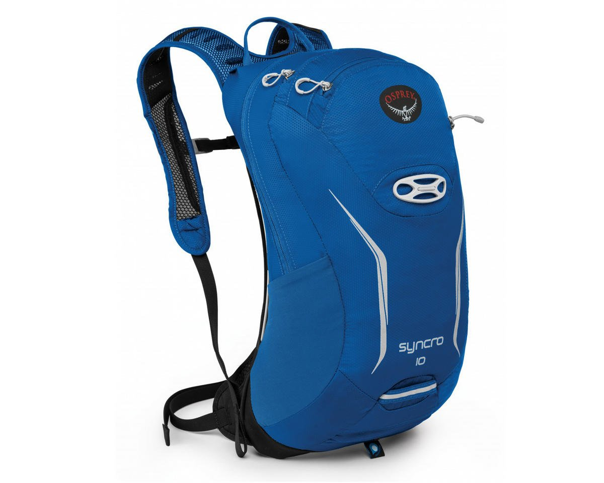 Osprey Syncro 10 Hydration Pack (Blue Racer) (85oz/2.5L)