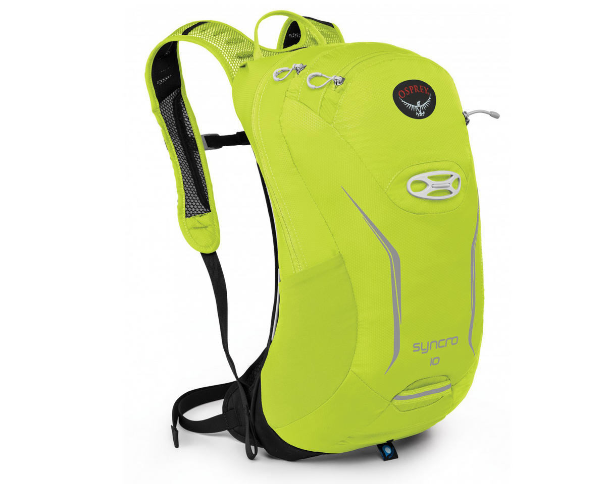 Osprey Syncro 10 Hydration Pack (Velocity Green) (85oz/2.5L) (M/L)