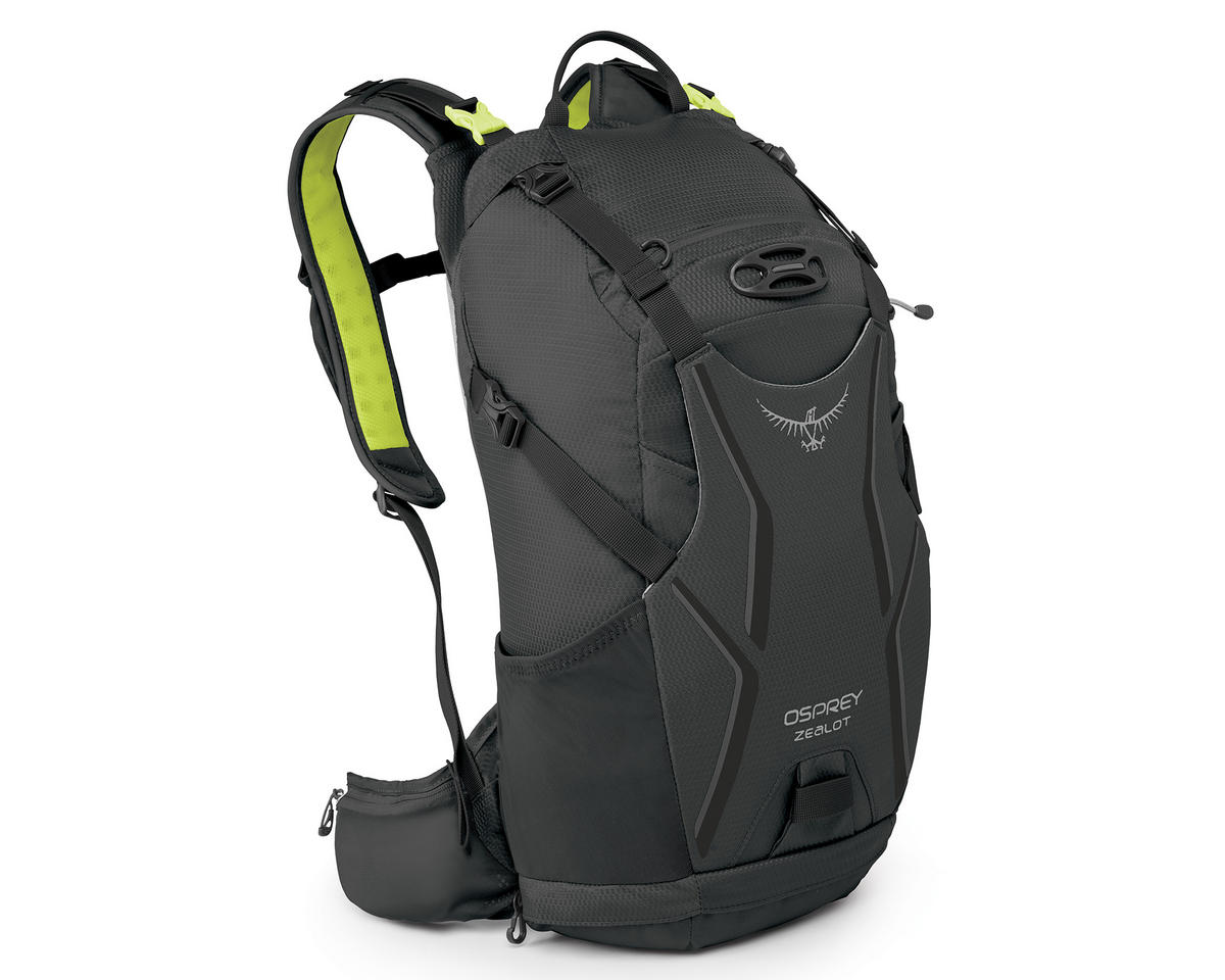Osprey Zealot 15 Hydration Pack (Carbide Grey) (100oz/3L) (M/L)
