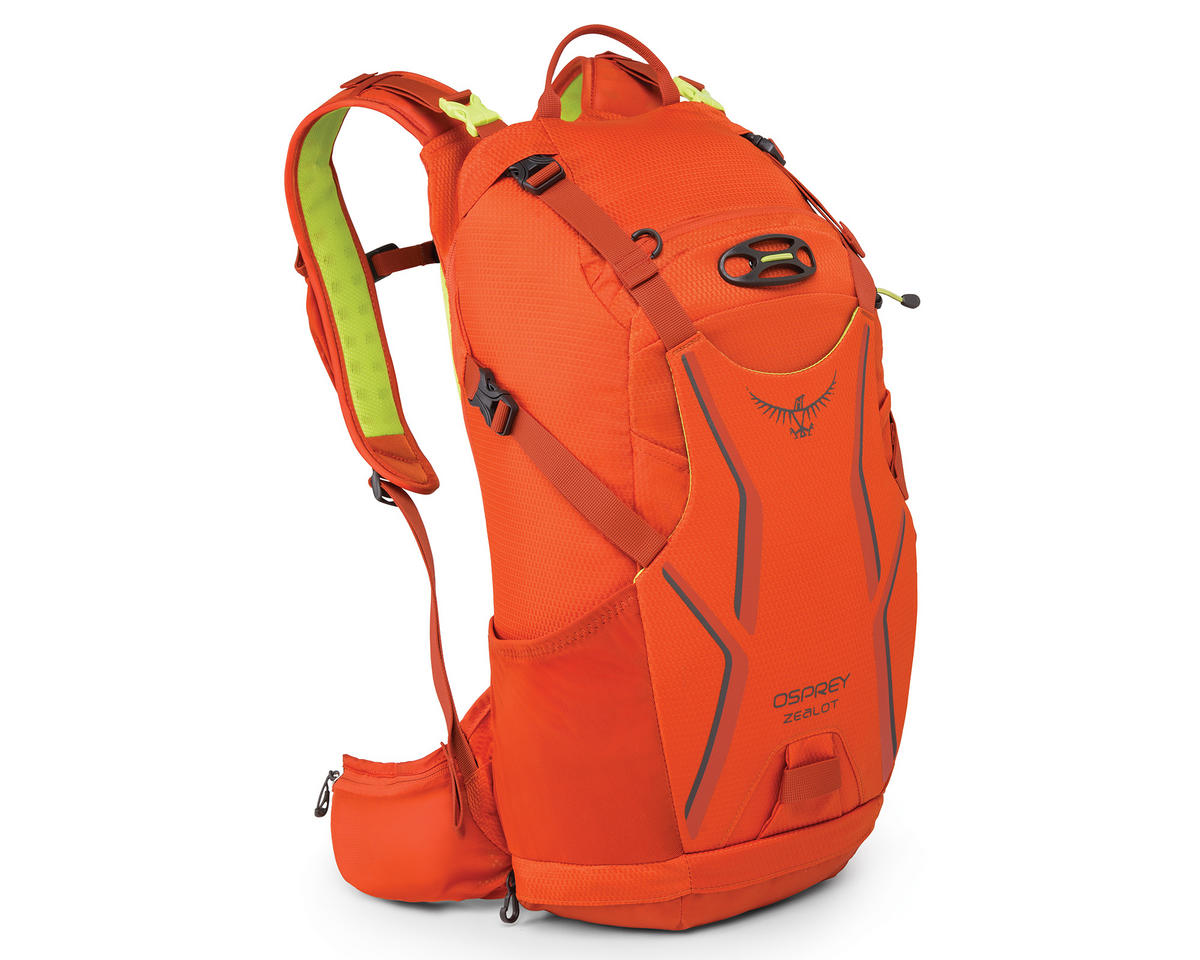Osprey Zealot 15 Hydration Pack (Atomic Orange) (100oz/3L) (M/L)
