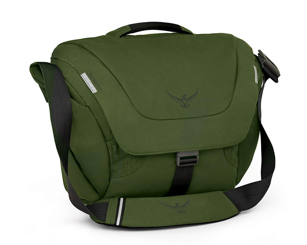 Osprey FlapJack Courier Bag (Peat Green)