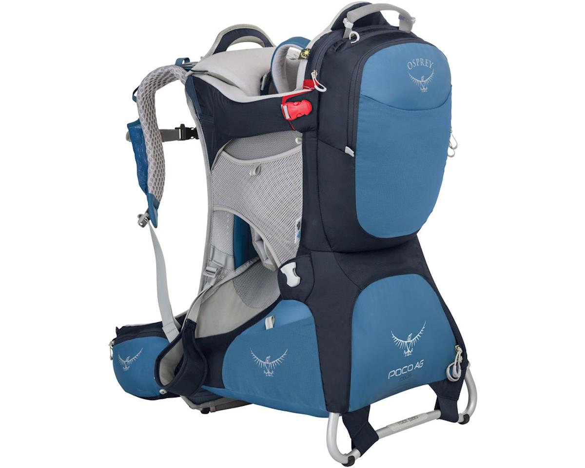 Osprey Poco AG Plus Child Carrier: Seaside Blue, One Size