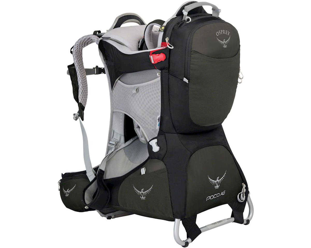 Opsrey Poco AG Plus Child Carrier: Black, One Size