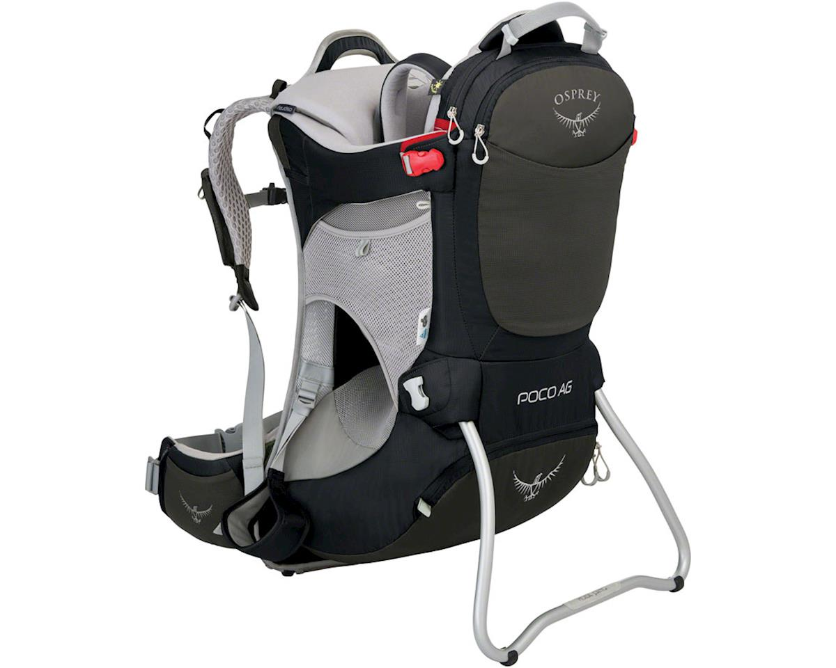 Osprey Poco AG Child Carrier: Black, One Size