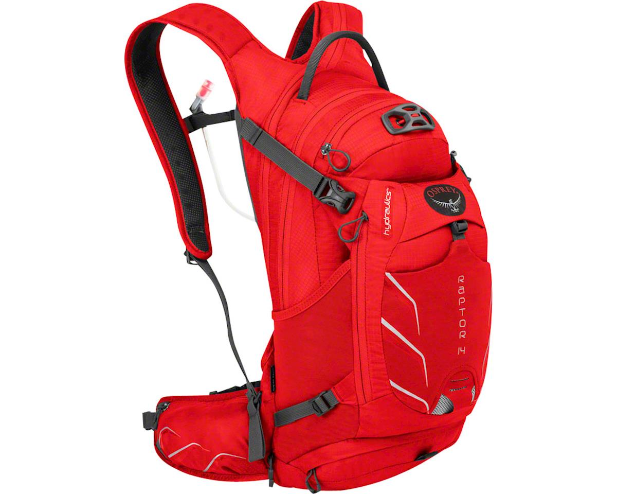 Raptor 14 Hydration Pack: Red Pepper, One Size