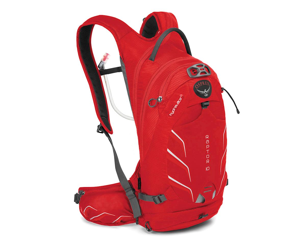 Osprey Raptor 10 Hydration Pack (Red Pepper)