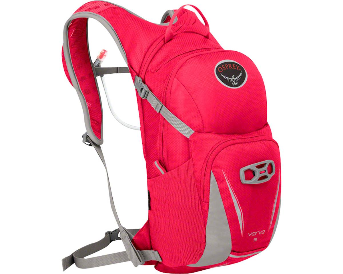 Verve 9 Women's Hydration Pack: Scarlet Red, One Size
