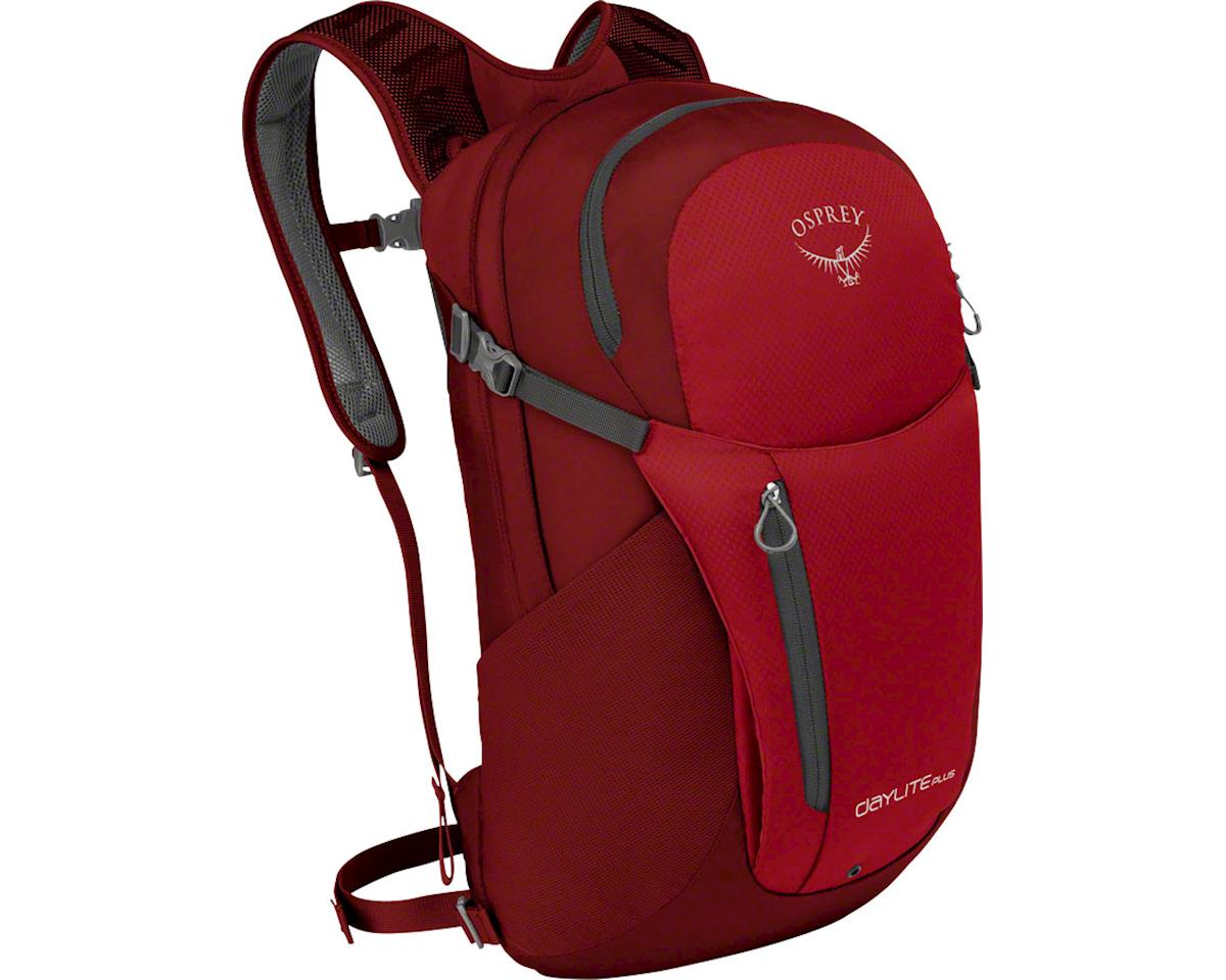 Osprey Daylite Plus Backpack: Real Red, One Size