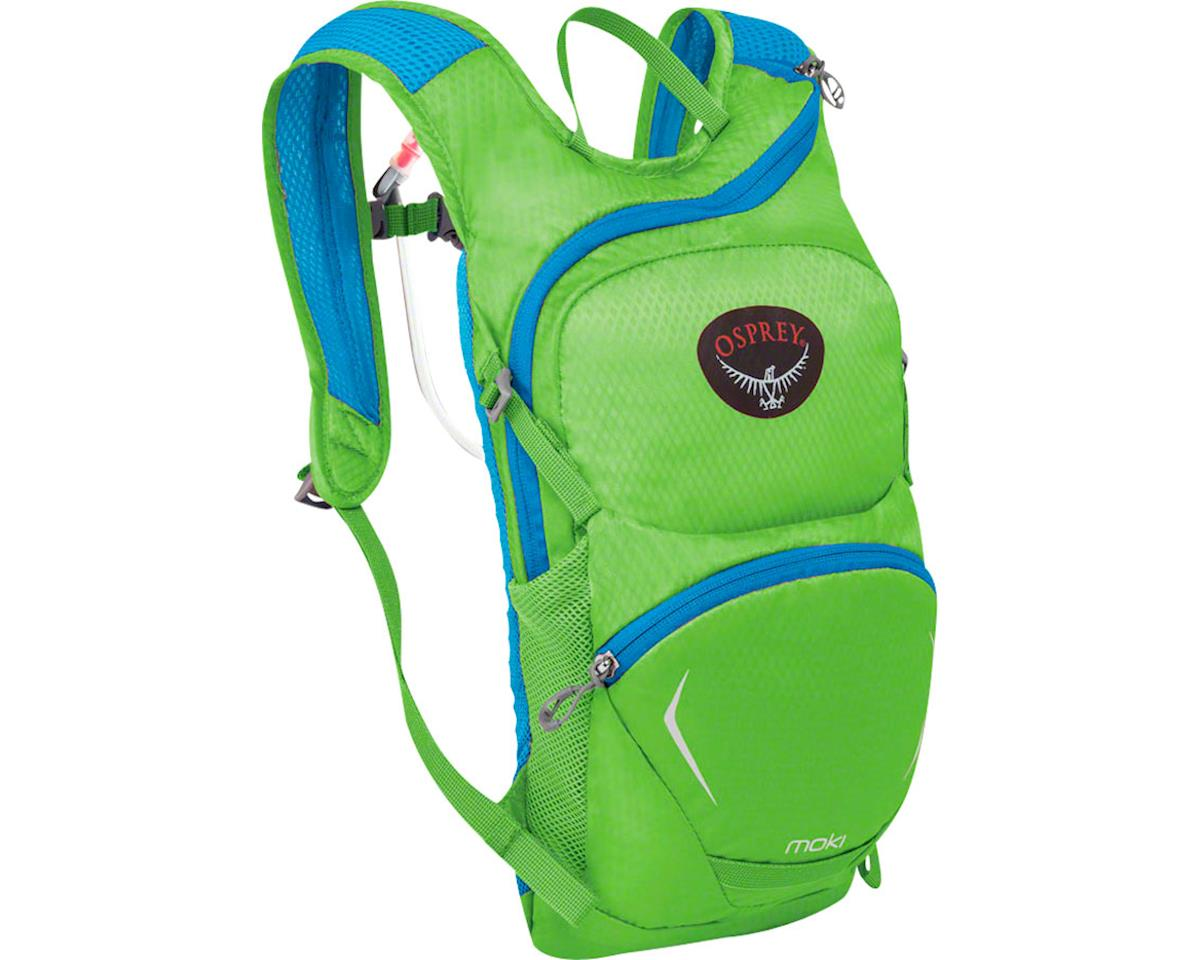 Osprey Moki 1.5 Kids Hydration Pack (Grasshopper Green) (One Size)