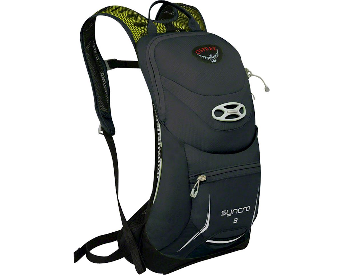 Syncro 3 Hydration Pack: Meteorite Gray, SM/MD