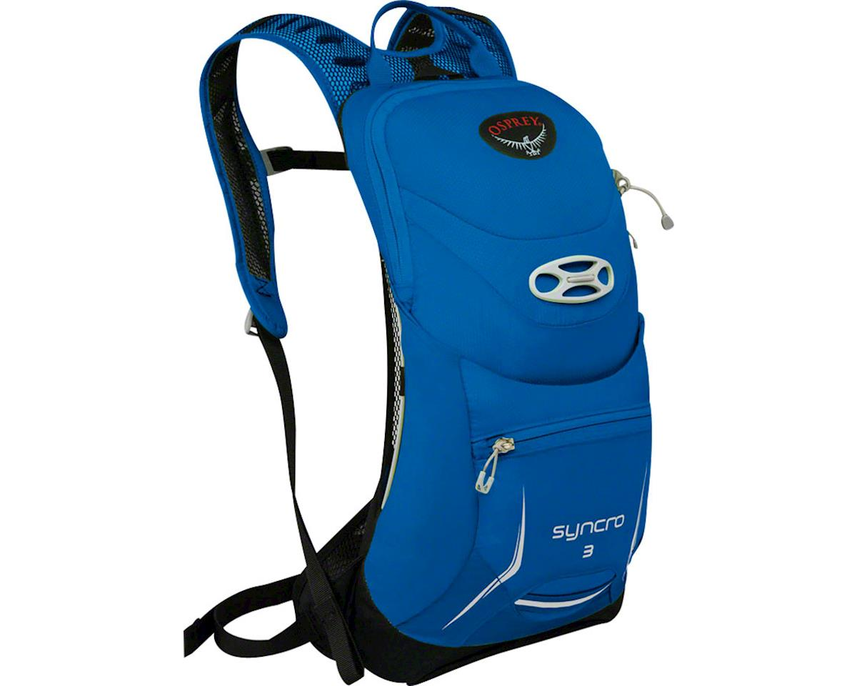 Syncro 3 Hydration Pack: Blue Racer, SM/MD