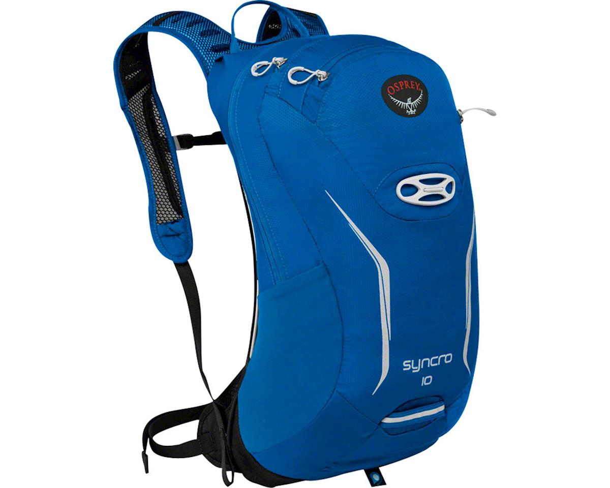 Syncro 10 Hydration Pack: Blue Racer, MD/LG