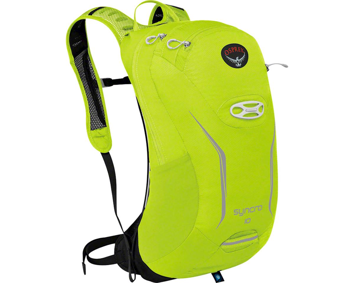 Syncro 10 Hydration Pack: Velocity Green, MD/LG