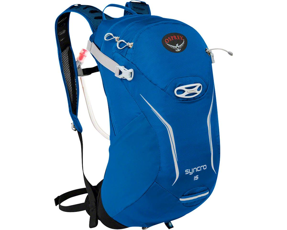 Syncro 15 Hydration Pack: Blue Racer, SM/MD