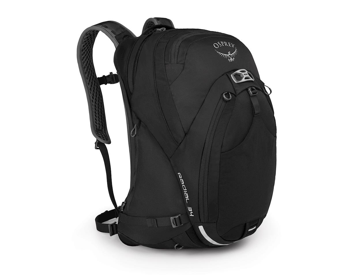Osprey Radial 34 Commuter Backpack (Black) (M/L)