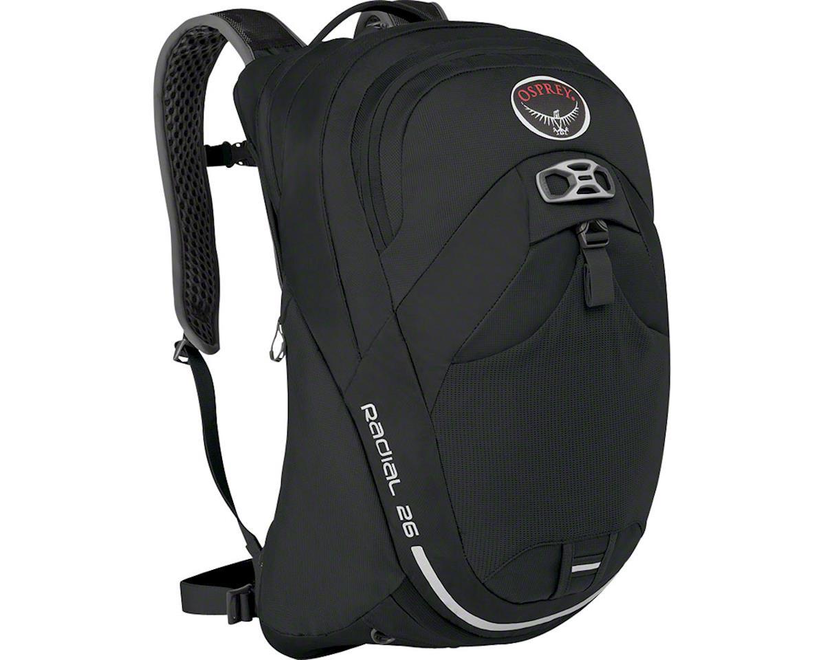 Osprey Radial 26 Commuter Backpack (Black) (S/M)