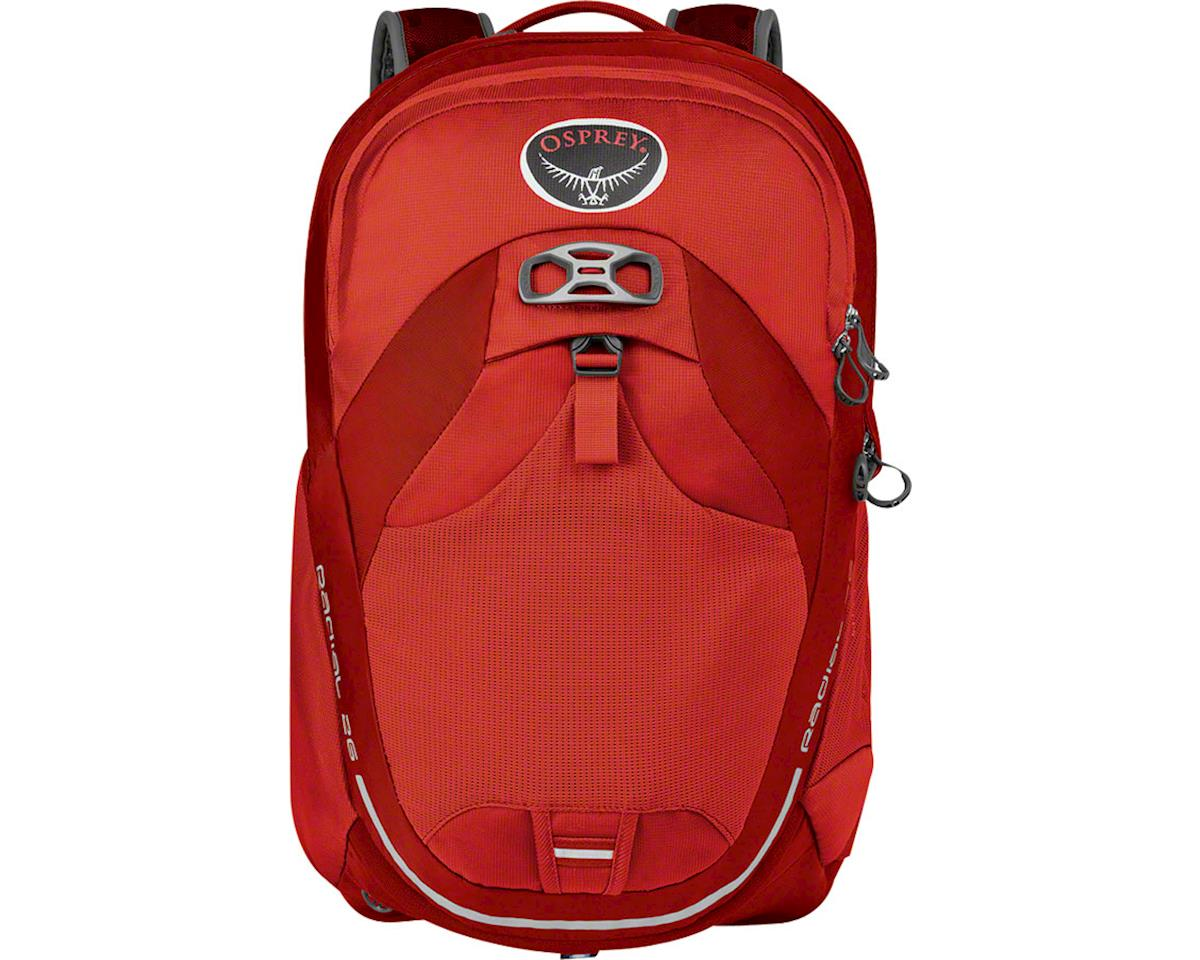 Osprey Radial 26 Commuter Backpack (Lava Red) (S/M)