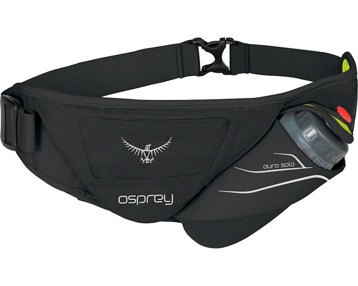 Duro Solo Hydration Belt: Black