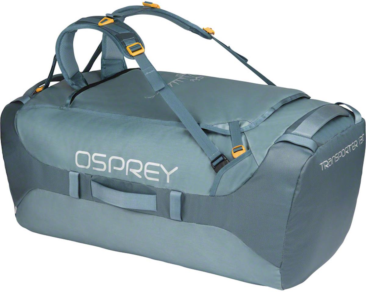 Osprey Transporter 130 Duffel Bag: Keystone Gray