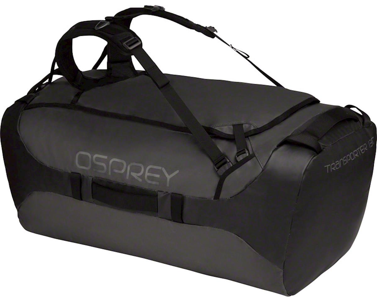 Osprey Transporter 130 Duffel Bag: Black