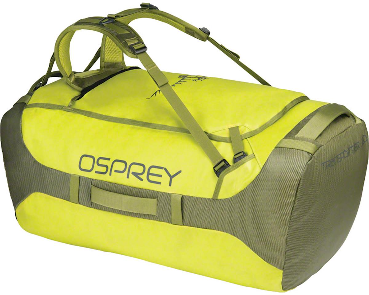 Osprey Transporter 130 Duffel Bag: Sub Lime
