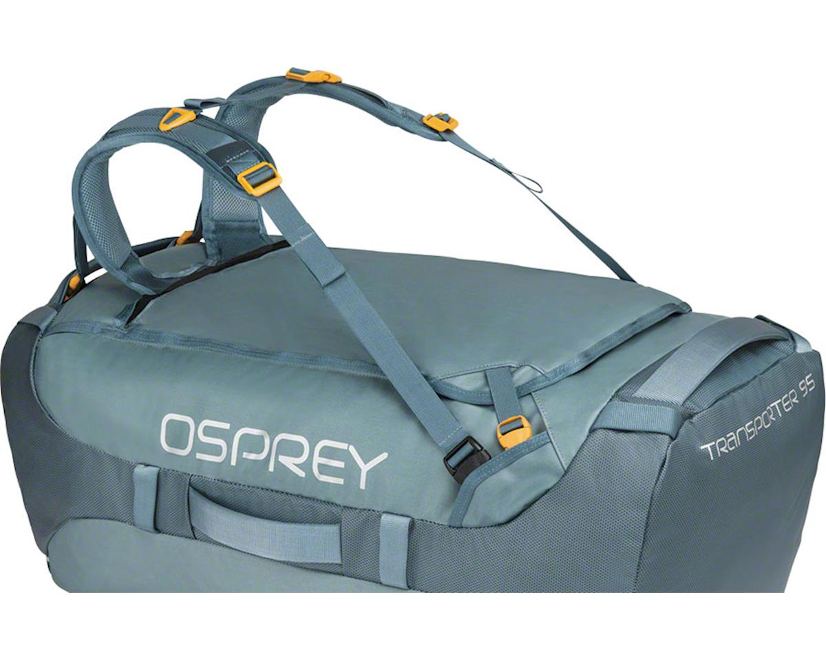 Osprey Transporter 95 Duffel Bag: Keystone Gray