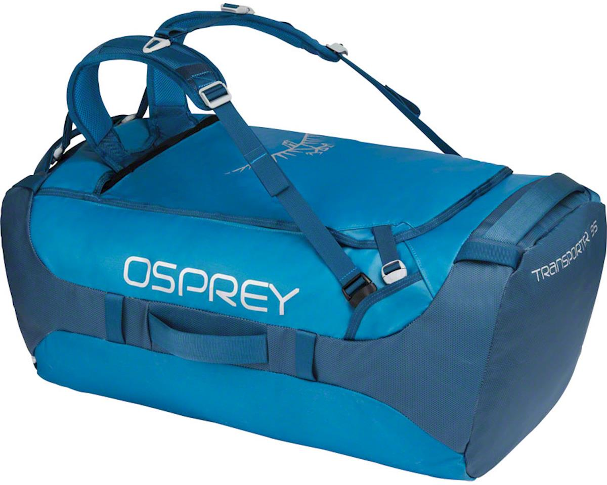 Osprey Transporter 95 Duffel Bag: Kingfisher Blue