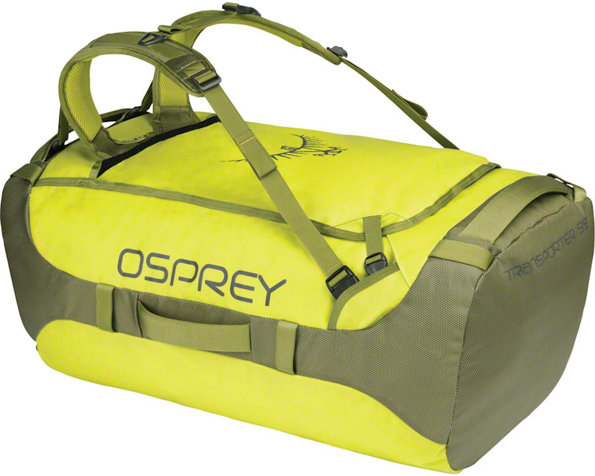 Osprey Transporter 95 Duffel Bag: Sub Lime