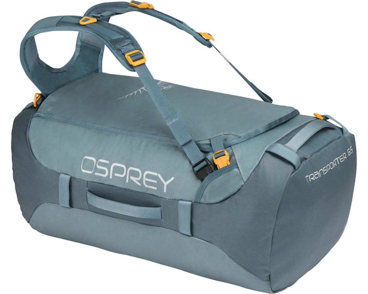 Osprey Transporter 65 Duffel Bag: Keystone Gray