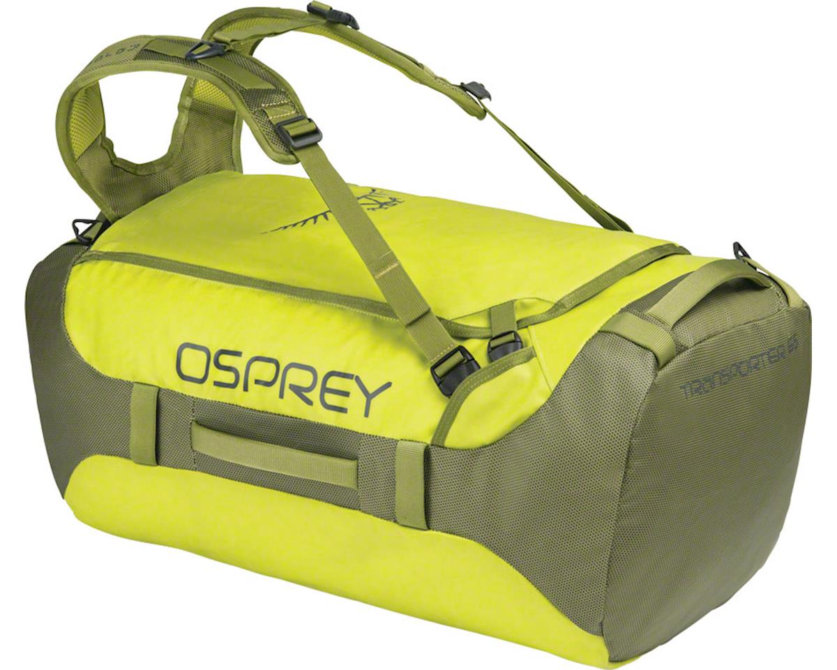 Osprey Transporter 65 Duffel Bag: Sub Lime