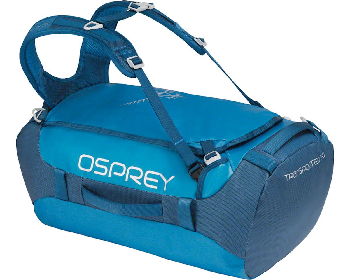 Osprey Transporter 40 Duffel Bag: Kingfisher Blue