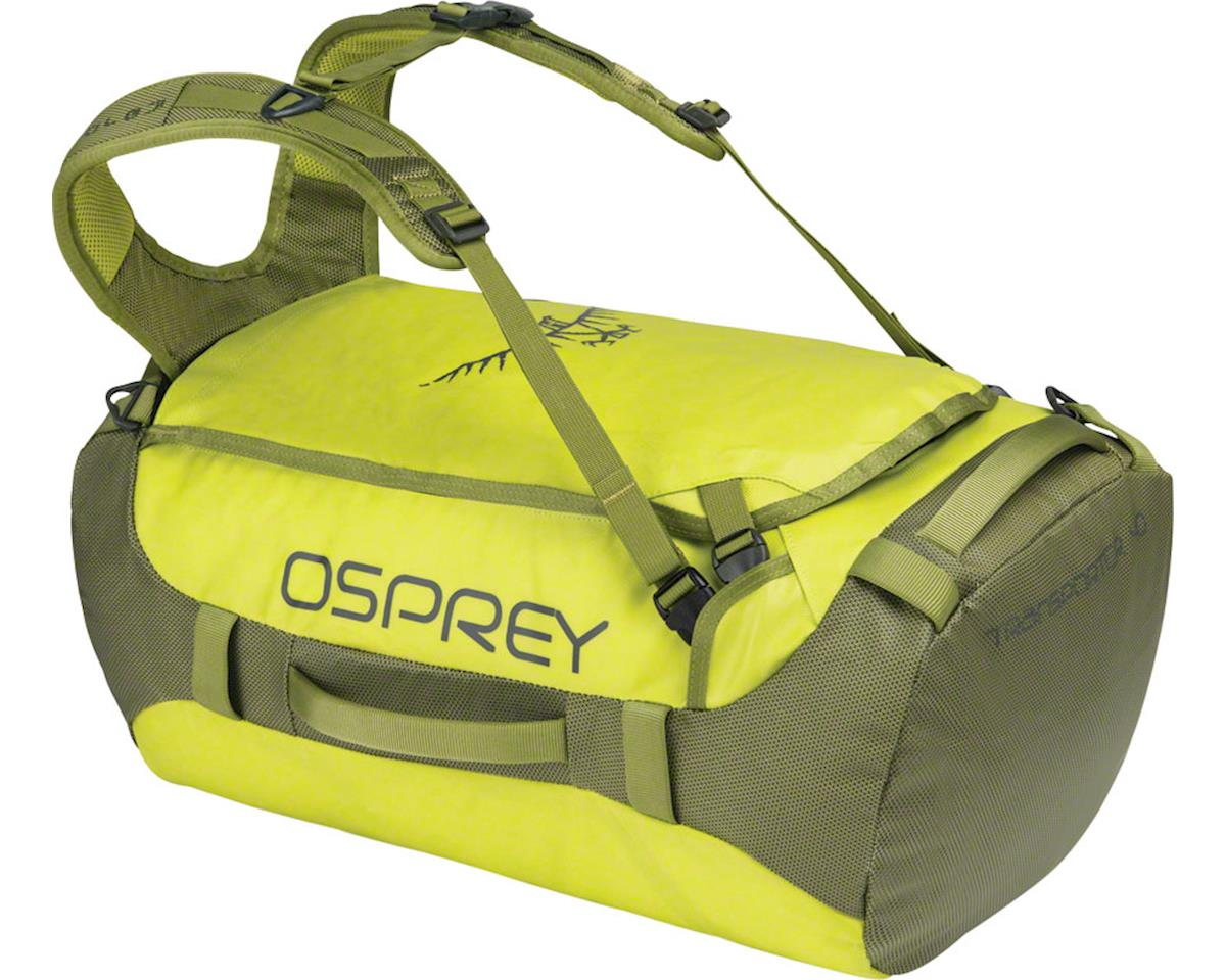 Osprey Transporter 40 Duffel Bag: Sub Lime