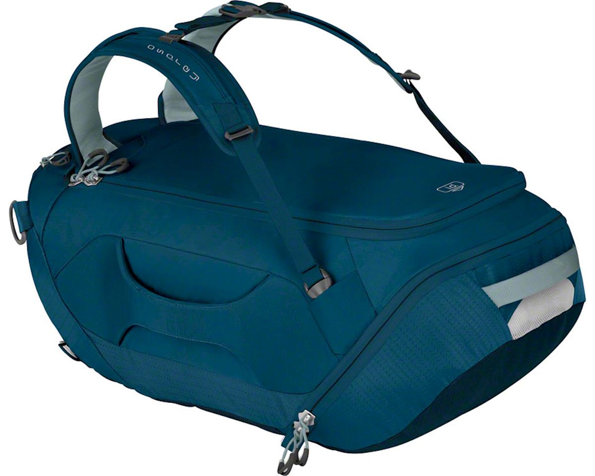Osprey SnowKit Duffel Bag: Ice Blue