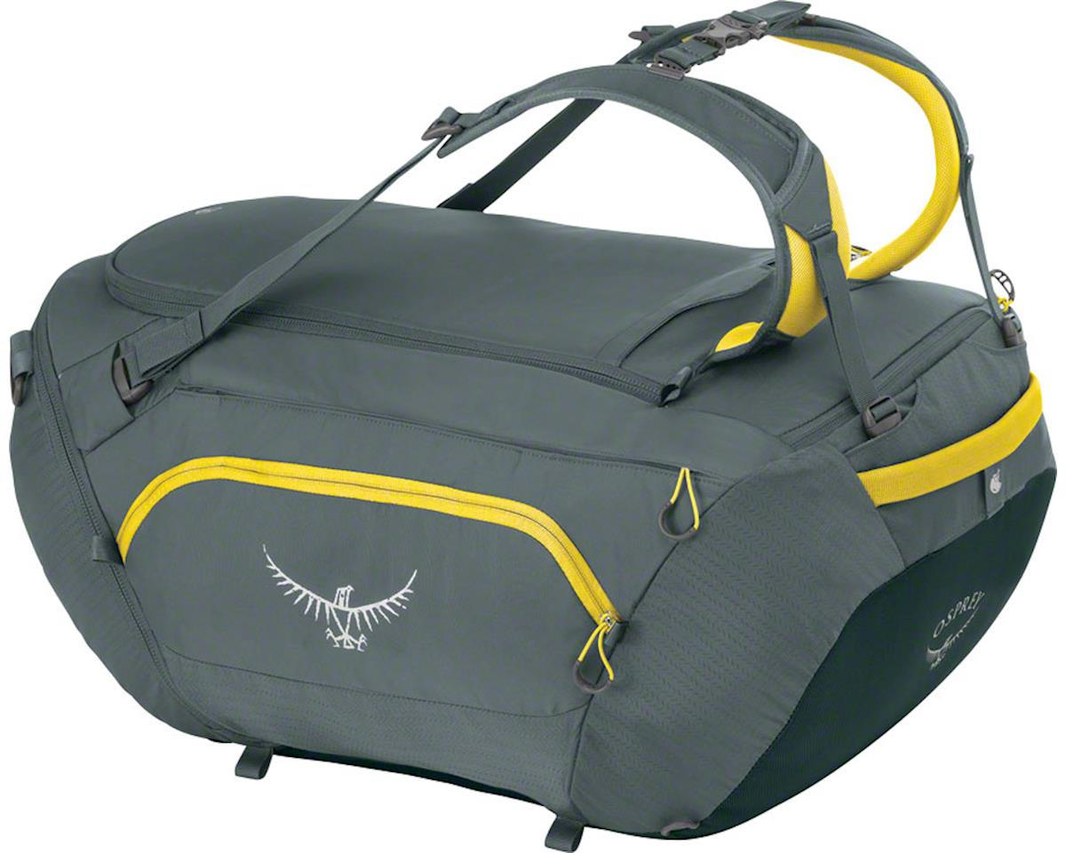 Osprey BigKit Duffel Bag: Lightning Gray