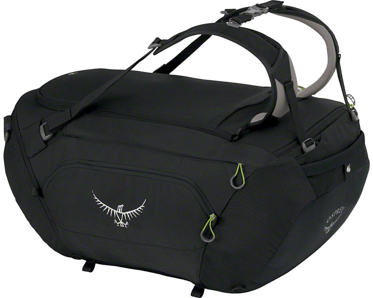 Osprey BigKit Duffel Bag: Anthracite Black