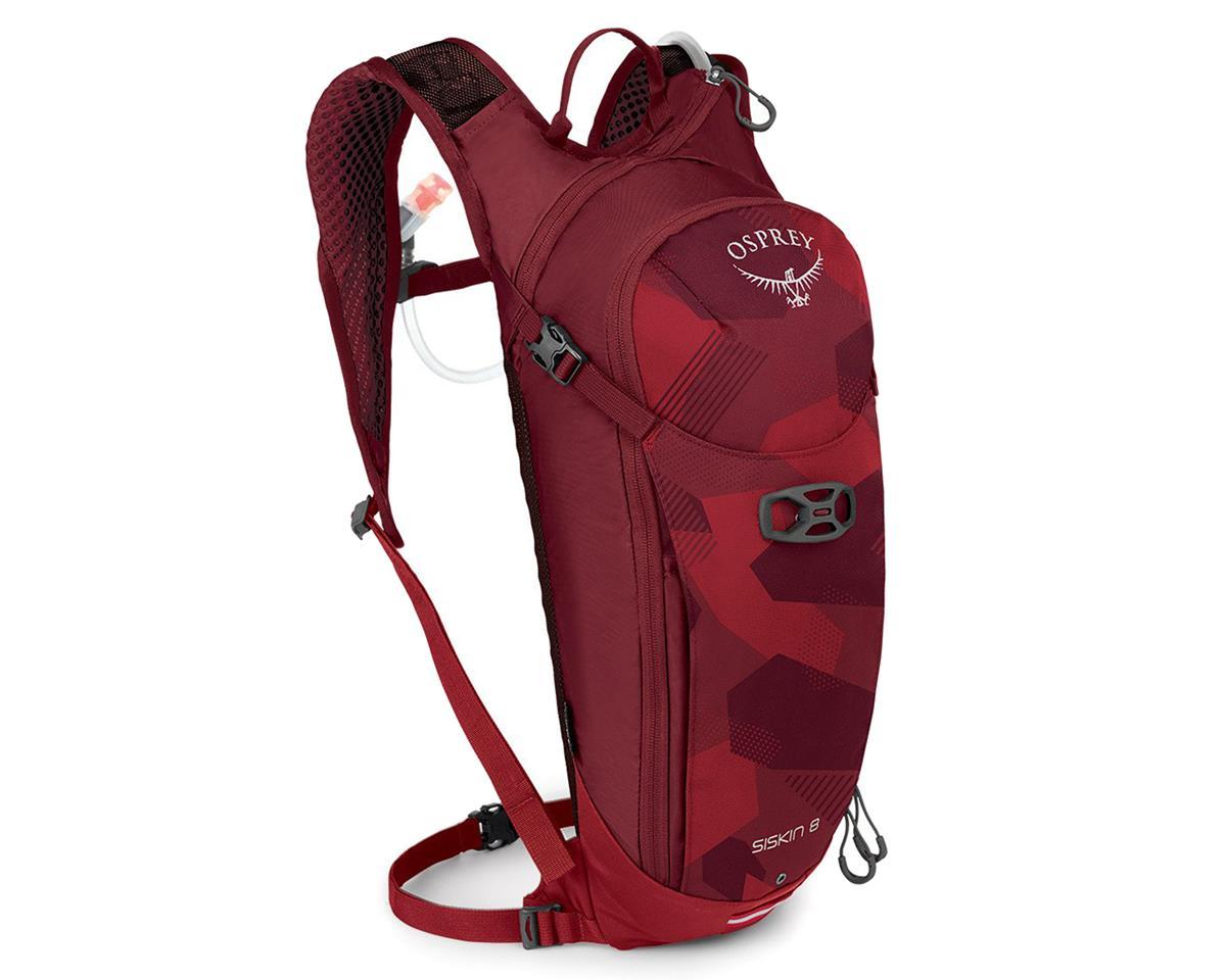 Osprey Siskin 8 Hydration Pack (Molten Red)
