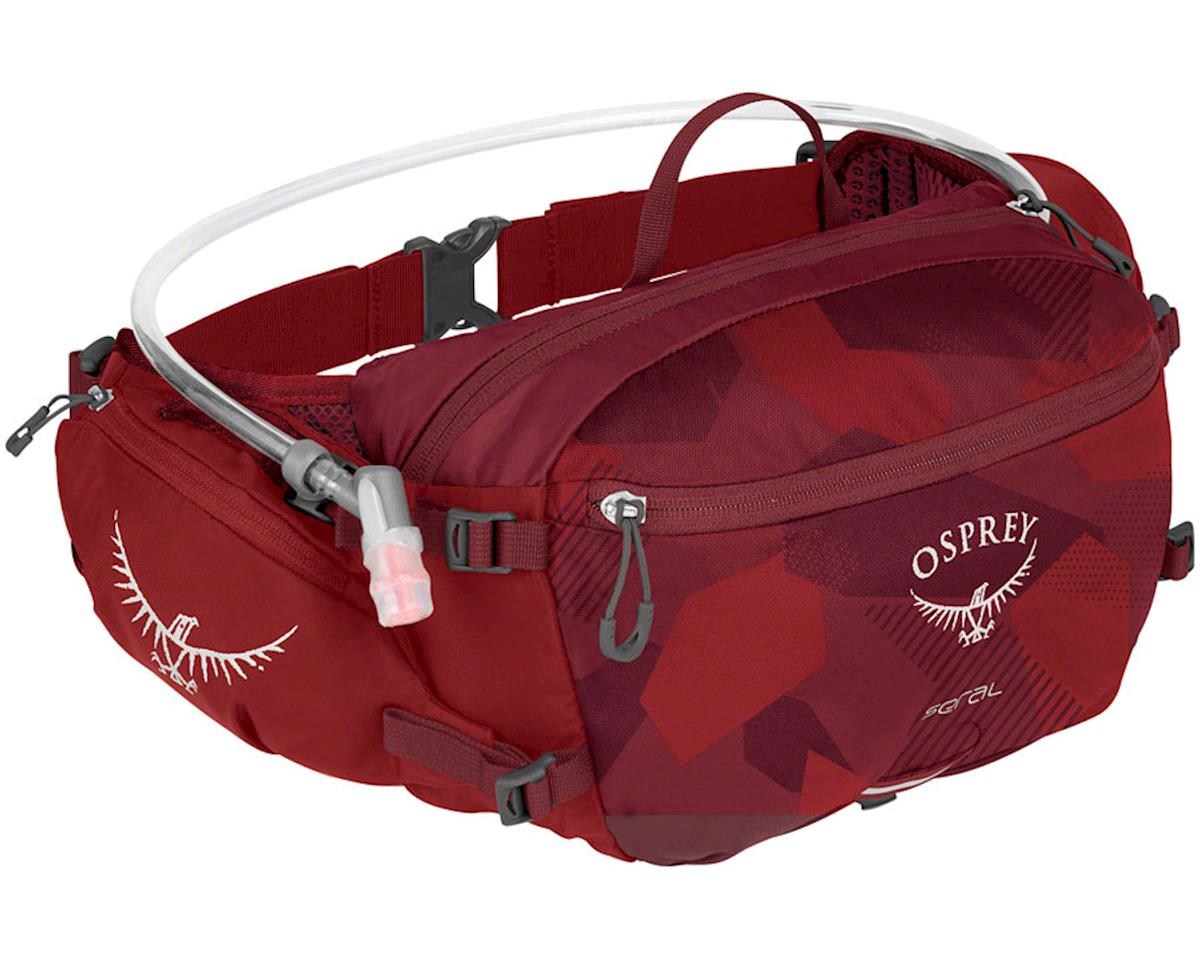 Osprey Seral Lumbar Hydration Pack w/ 1.5L Reservoir (Molten Red)