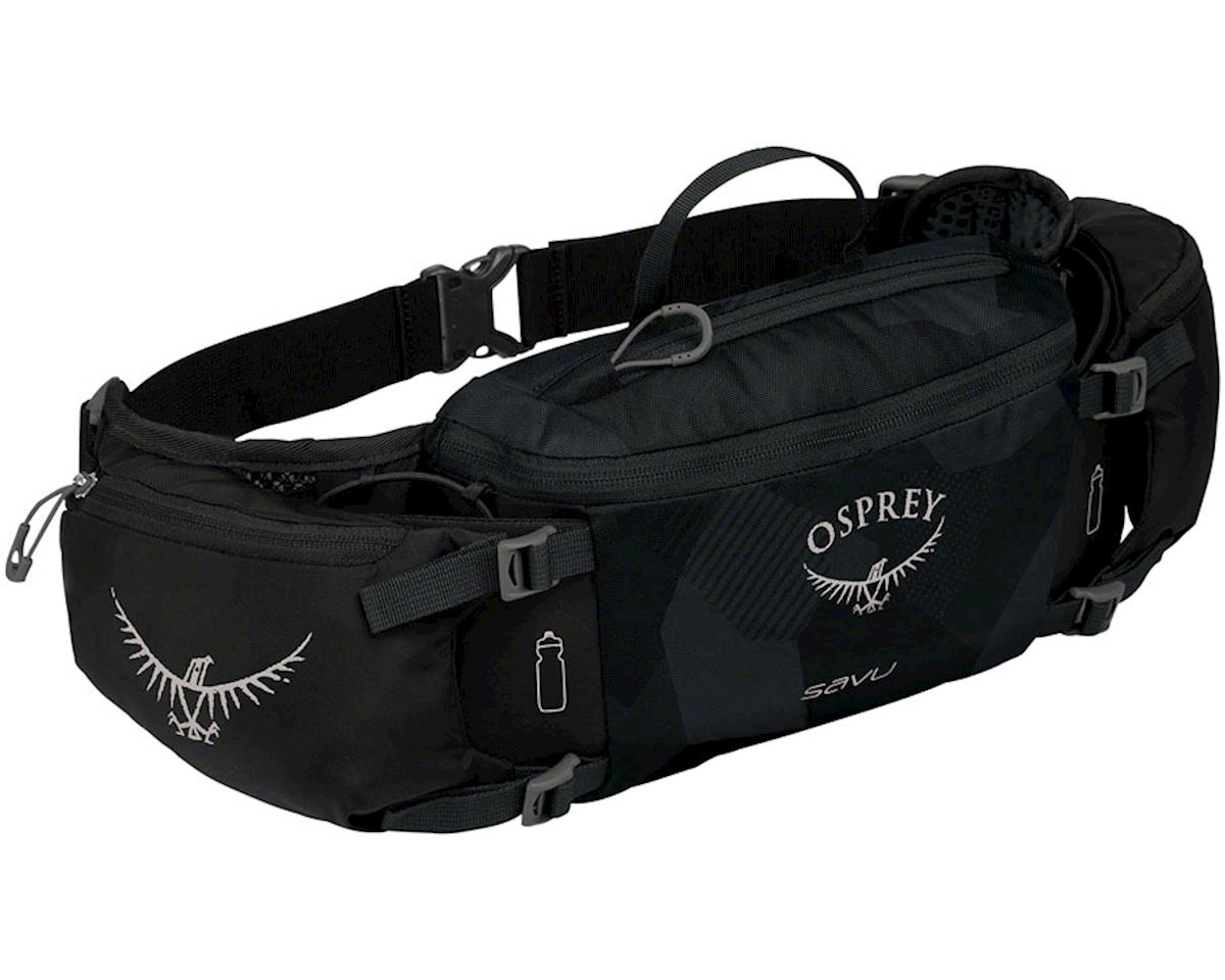 Osprey Savu  Lumbar Bottle Pack (Obsidian Black) (Bottles Not Included)