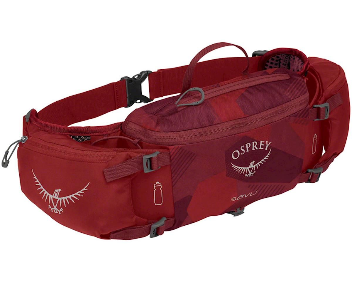 Osprey Savu Lumbar Bottle Pack (Molten Red)