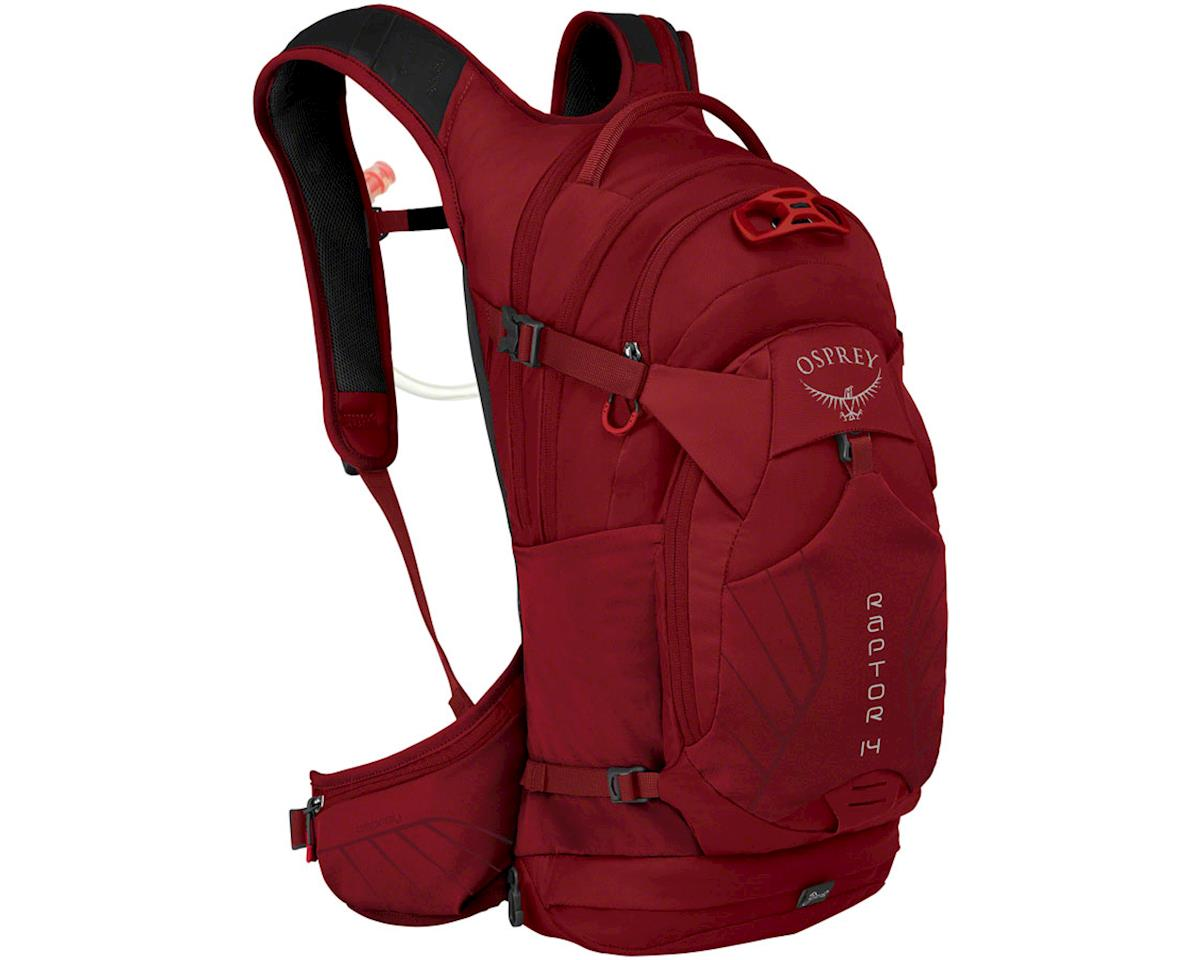 Osprey Raptor 14 Hydration Pack (Wildfire Red)