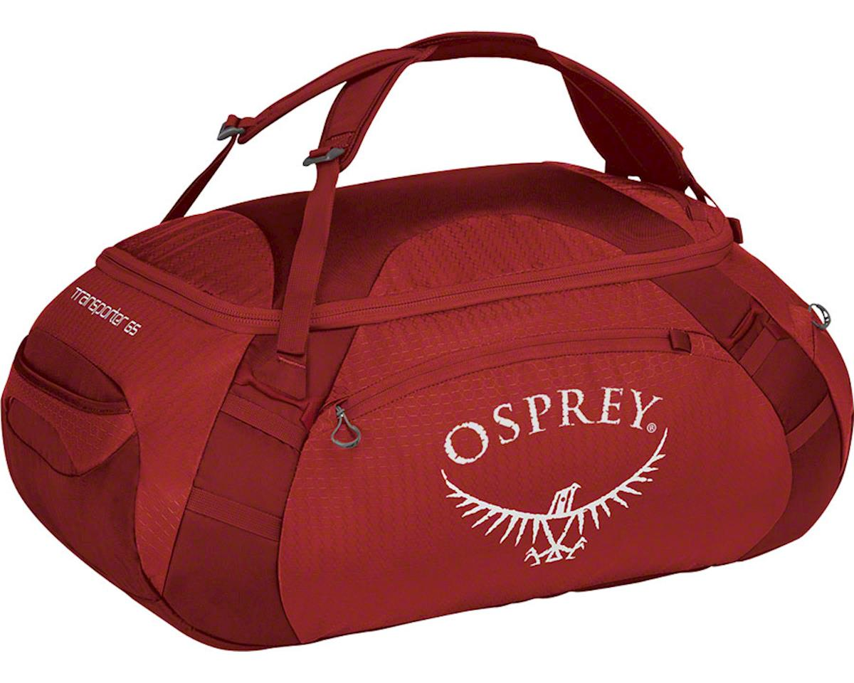 Osprey Transporter 65 Duffel Bag: Hoodoo Red